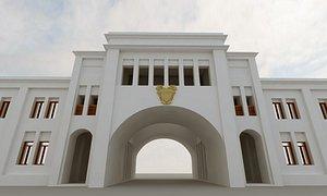 al bahrain 3D model