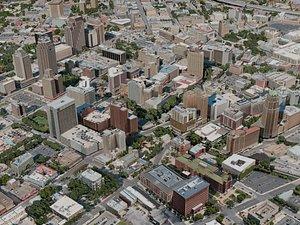 3D san antonio city model
