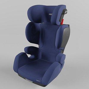 Recaro Mako 2 Children Car Seat Core Energy Blue 3D model