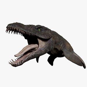 3D model Predator X -  Pliosaurus FunkeiFull