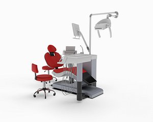 3D model dental chair sirona