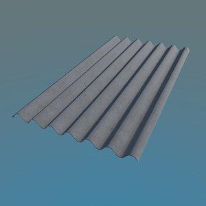 obj slate roof 980x1750mm 7
