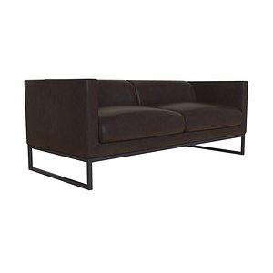 Couch 02 3D model