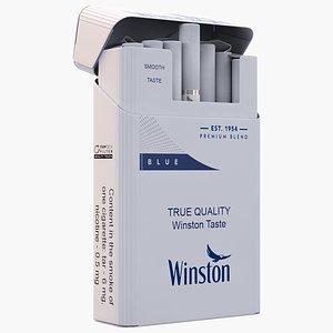 3D Winston Cigarettes Pack model