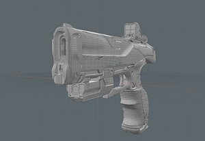 concept weapons model