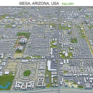 3D Mesa Arizona USA model