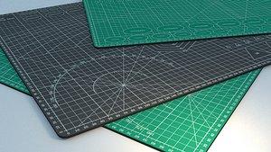 cutter mat 3D model
