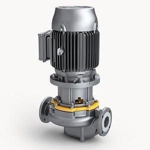 Centrifugal Water Pump 3D model