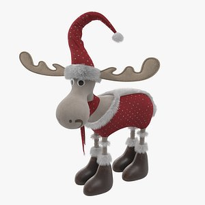 3D Christmas Deer
