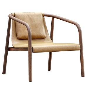3D bernhardt oslo lounge chair