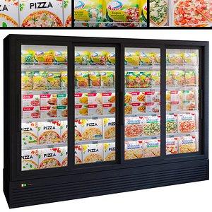 3D Showcase 038 Refrigerator model