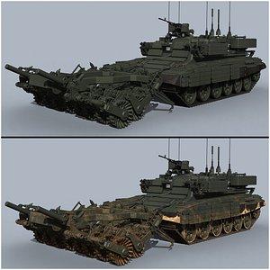 3D model armored bmr-3ms