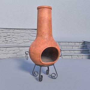 3D ceramic subdivision model
