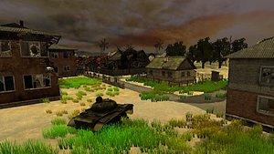 Zombie Town 3D
