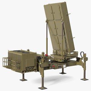 Ground Based Mobile Multi Mission Radar 3D model