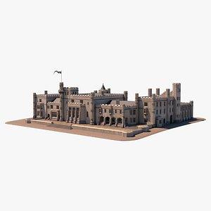 abbey old 3D model