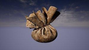 hex bag purse 3D