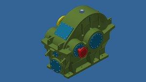 3D Reduction gear