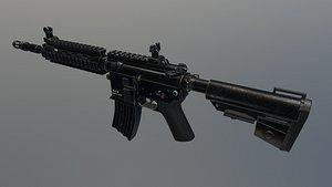 m416 Model 3D