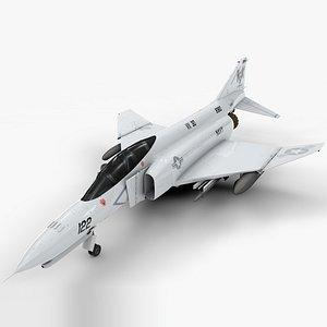 mcdonnell douglas f-4 3D model