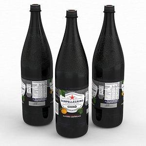 Beverage Bottle Sanpellegrino Chino 1250ml 2021 3D