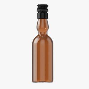 Whiskey bottle 16 3D model