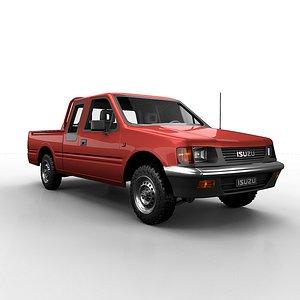 isuzu pickup space model