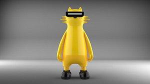 Realme Mascot, Realmeow 3D model