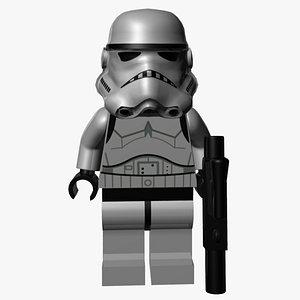3D model Lego Stormtrooper