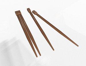 3D model Chopstick 02