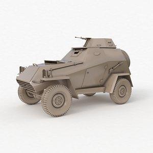 3D BA 64 Soviet Clay VRay
