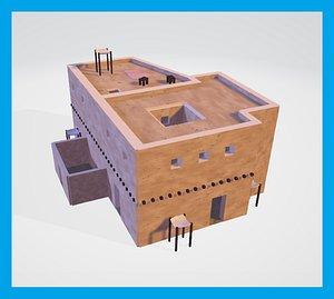 house mesopotamia model