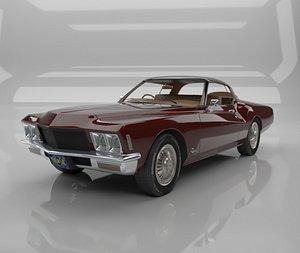 1971 Buick Riviera 3D model