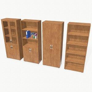 Bookcases 3D model