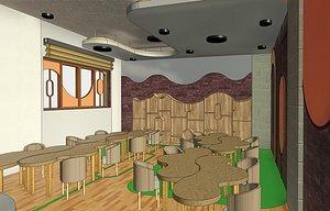 3D CLASS ROOM