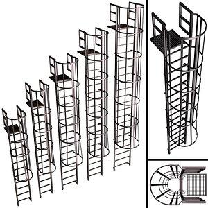 safety escape 3D model