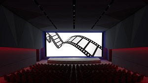 Dolby Movie Theater 3D model