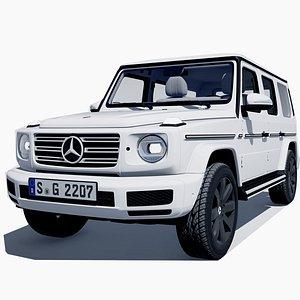 Mercedes benz G63 and G65 LD 3D model