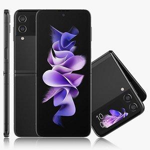 3D Samsung Galaxy Z Flip 3
