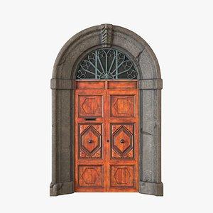 Exterior Door V2 3D model