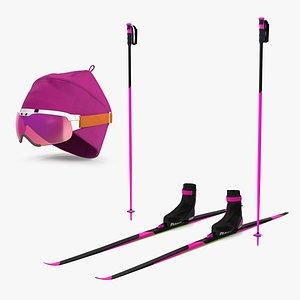 3D model Biathlon Athlete Uniform Collection