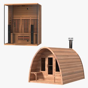 Sauna Constructions Collection model