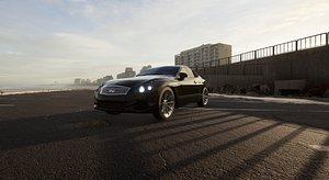 3D Infiniti G37S Coupe