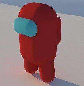 3D among us model
