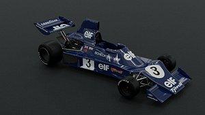 3D tyrrell 007 1975