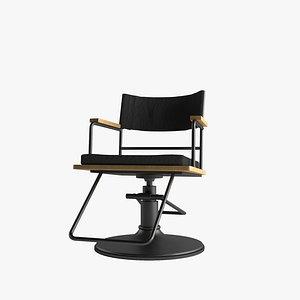 3D Barber Chair RAF