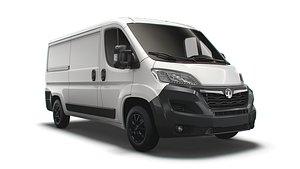 Vauxhall Movano Van L2H1 2022 3D