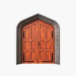 Exterior Door V8 3D model