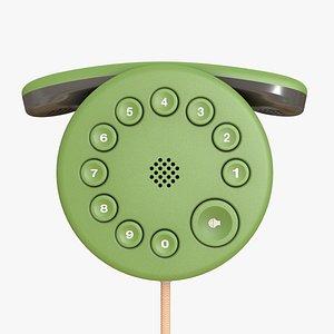 3D wall phone