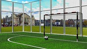 3D football stadium 2014